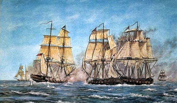 Battles had been fought on Lakes Erie and Ontario