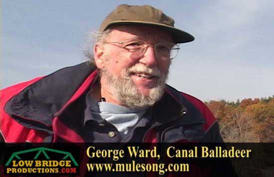 Erie Canal balladeer George Ward's CD can be purchased through his website at www.mulesong.com