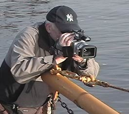 Stephen Drew shooting video on the Mohawk River in 2005